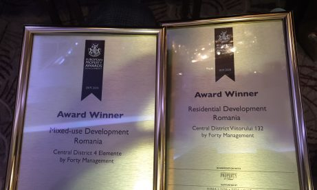 Two Forty Management residential projects, awarded in London at the European Property
