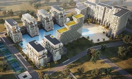 Romanian developer plans mixed-use complex around artificial lagoon in Bucharest